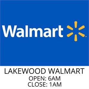 Walmart Lakewood